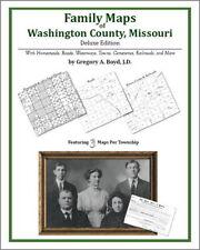 Family Maps Washington County Missouri Genealogy Plat