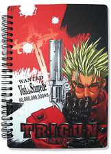 Trigun Vash Spiral Notebook Note Book Anime NEW