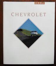 CHEVROLET 1992 Range 104p USA prestige brochure -Camaro Caprice Beretta Corvette
