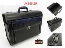 New Mens Womens Black Business Pilot Carry Case Bag