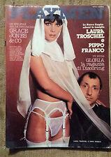 Playmen n 4 1978 - Laura Troschel, Grace Jones, Gloria la ragazza di Discoring