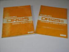 MANUEL REVUE TECHNIQUE D ATELIER SUZUKI DR 125 / S 1982->