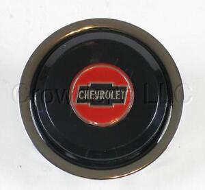 Nardi Steering Wheel Horn Button Single Contact with Chevrolet Chevy Logo NOS