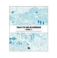 Talk To me in Korean Level 1 Book Korean Language Grammar Beginner Textbook