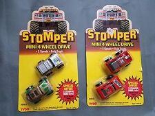 Tyco  Stomper 1988 mini 4 wheel drive lot (in package) Rare