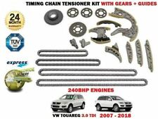 FOR VW TOUAREG 3.0 V6 TDI 240BHP 2007-2018 TIMING CAM CHAIN KIT + GEARS + GUIDES