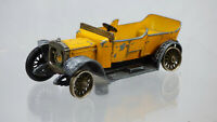 Matchbox Lesney Models of Yesteryear Y-13 1911 Daimler Yellow Diecast Toy Car
