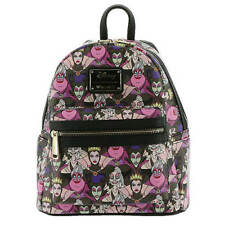 Disney Villains Mini Backpack Purse Loungefly Villains Backpack 2018 RELEASE NEW