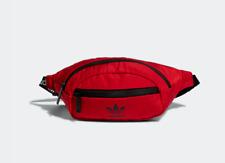 adidas Original National Waist Pack Fanny Pack Travel Purse Dark Red  CK6589