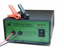 Super fast battery charger for 48V SLA battery, 18-20Amp