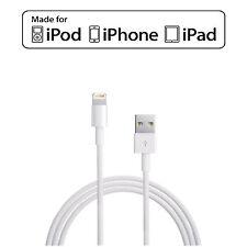 Plomo De Carga Cargador Cable de datos USB para iPhone 6 5C/S iPod Nano iPad Mini Touch