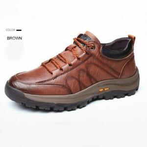 Zapatos De Cuero Casuales Para Hombre Zapatillas De Trabajo Antideslizante Lujo