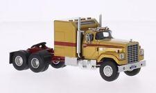 Dodge Cnt 950 Tractor Truck 1973 Gold Met Red Neoscale 1:64 NEO64010 Model