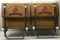 Vintage Arizona State University Sun Devils Pair of Stadium Chair Bleacher Seats
