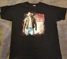 Jason Aldean Black 2012 Tour Men's Shirt Size Extra Large