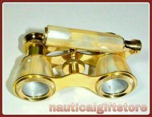 Antique Brass Monocular Maritime Vintage Gift Nautical Binocular Telescope Gift