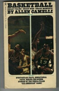 1970s paperback book Basketball Great Moments Bill Russell  Celtics Wilt Lakers