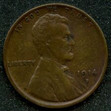 1914-D (VF) 1C LINCOLN WHEAT CENT