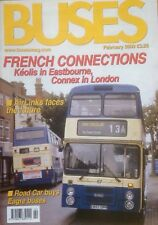 Buses Magazine Feb 2002 - Eastbourne, Connex London, Keolis, Airlinks