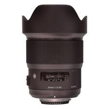 Sigma 20mm f/1.4 DG HSM Arte Lente Para Nikon F