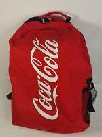 Coca-Cola Coke Red Black Back Pack Water Bottle Holder
