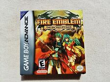 GB Advance Fire Emblem 2, GBA Custom Art case only, no game included