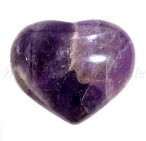 Natural Amethyst Heart | Protection Healing Crystal Chakra Gemstone