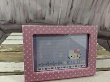 Pottery Barn Kids Picture Frame Pink Polka Dot Girls Bedroom Home Decor