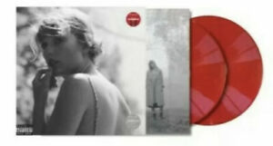 Taylor Swift - Folklore - Double RED Vinyl 2-LP - Target Exclusive - New