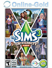 The Sims 3 University Life Expansion Pack - PC EA Origin Digital Code - US & CA