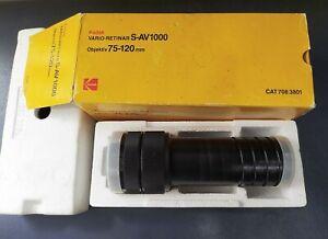 Kodak Vario - retinar S-AV 1000 odjectivo 75-120mm Projection lens Made Germany
