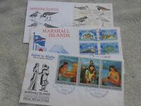 584441 / Australien Marshall Islands  FDC LOT