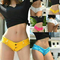 Sexy Women Ladies Mini Hot Pants Jeans Shorts Denim Low Waist Shorts Club wear