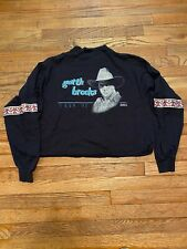 Vintage Garth Brooks 1990 Tour Tshirt Shirt Crop Top Size Xl