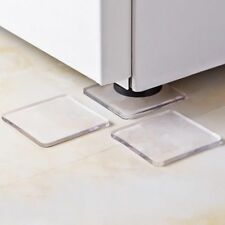 Anti-Vibration Silicone Bathroom Pad Mats Transparent Eco-Friendly Floor Mat New