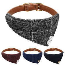 Dog Bandana Collar Adjustable Pet Dog Neckerchief 3 Sizes & 4 Colours Available
