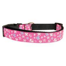 Harnais rose pour chiens moyens en nylon pour chien