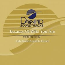 Because Of Who You Are - Accompaniment CD New CD