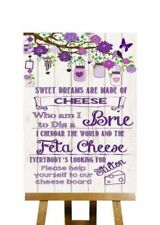 Not Personalised Wedding Wooden Boards