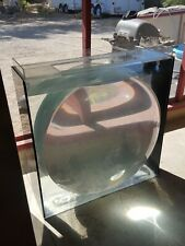 """New listing Big Acrylic Aquarium Fish Tank Bubble Survivor 40"""" Convex Apx 90 Gallons Wow"""
