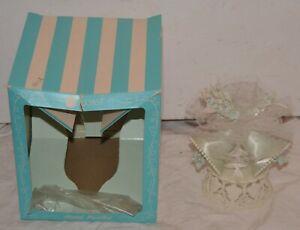 Vintage 1959 Coast Novelty Co. Wedding Bells Cake Topper w/Box