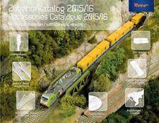 ROCO 81784 Accessories Catalogue Standard Vehicles 2015/16 H0/H0e NEW