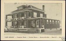 canada, BEAUCEVILLE EAST, Quebec, Cafe Gerard (1940s)