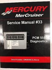 Mercury Mariner Service Shop Repair Manual #33 Pcm 555 Diagnostics 90-863757002