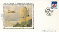 (12268) GB Jersey Benham Cover WWII Liberation 9 May 1985 NO INSERT
