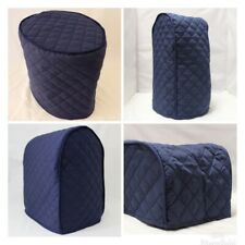 Navy Quilted Double Faced Cotton Appliance Cover