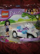LEGO 30103 Friends Emma Sportscar polybag MISB Sealed Buy 6 = Free Shipping!