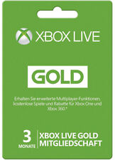 Xbox 360 Live 3 Month Gold Membership Month Card Card Code Key