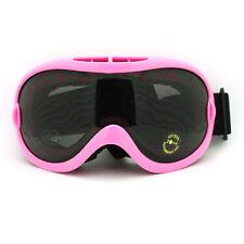Oversize Spherical Ski Snowboard Goggles Anti Fog Shatterproof Lens