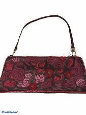 New York & Company NY&Co Small Embroidered Embellished Floral Purse